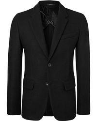 Rag & Bone - Black Razor Slim-fit Wool Blazer - Lyst
