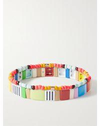 Roxanne Assoulin Oh Happy Day Set Of Two Enamel Bracelets - Blue