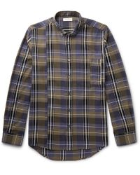 Public School - Retor Button-down Collar Panelled Checked Cotton Shirt - Lyst
