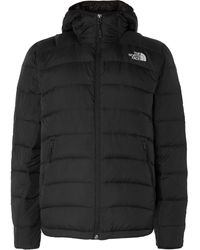 The North Face La Paz Packable Quilted Ripstop-shell Hooded Down Jacket - Black