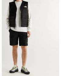 The North Face Metro Ex Belted Stretch-shell Cargo Shorts - Black