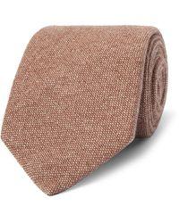 Gentleman Joe Red Paisley Floral Tie Multicolored