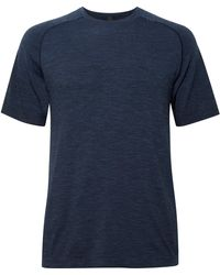 lululemon athletica Metal Vent Tech Mélange Tech-jersey T-shirt - Blue
