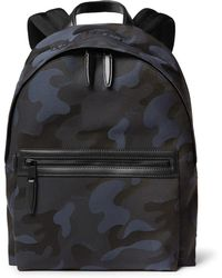147b06e507 Lyst - Mulberry Henry Wovennylon and Texturedleather Backpack in ...