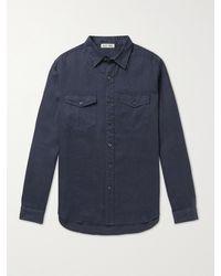 Alex Mill Linen Shirt - Blue