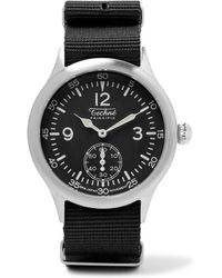 Techné - Merlin 246 Stainless Steel And Ballistic Nylon Watch - Lyst