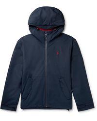 Polo Ralph Lauren Portland Hooded Shell Jacket - Blue