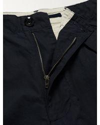 Beams Plus Cotton-ripstop Cargo Shorts - Blue