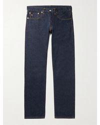 RRL Slim-fit Selvedge Denim Jeans - Blue