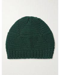 Bottega Veneta Wool Beanie - Green
