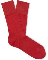 Falke - Tiago Stretch Fil D'ecosse Cotton-blend Socks - Lyst