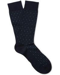 Pantherella - Palmer Patterned Cotton-blend Socks - Lyst