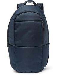 NN07 Canvas And Shell Backpack - Blue