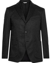 Altea Slim-fit Cashmere Blazer - Grey