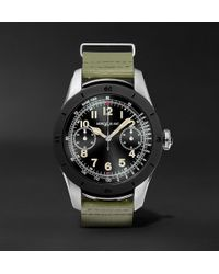 Montblanc - Summit 46mm Two-tone Pvd-coated Stainless Steel And Rubber Smart Watch - Lyst