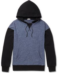 Eidos - Loopback Cotton-blend Jersey Hoodie - Lyst