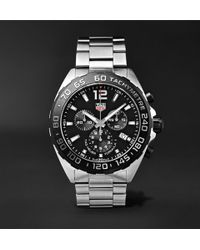 Tag Heuer | Special Edition Formula 1 Chronograph 43mm Stainless Steel Watch | Lyst