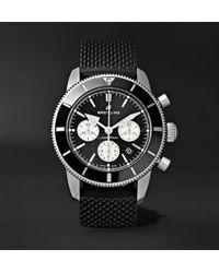 Breitling - Superocean Héritage Ii B01 Chronometer 44mm Stainless Steel And Rubber Watch - Lyst
