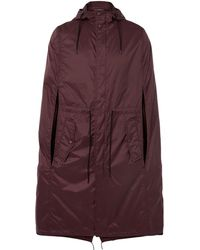 Valentino - Shell Hooded Parka - Lyst