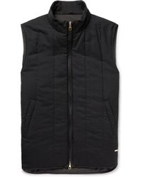 Dunhill - Quilted Cashmere Gilet - Lyst