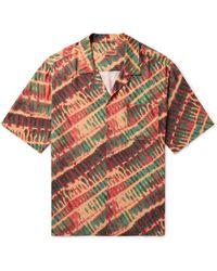Missoni - Camp-collar Tie-dyed Twill Shirt - Lyst