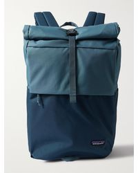 Patagonia Arbor Roll-top Recycled Canvas Backpack - Blue