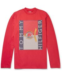 Vetements | + Tommy Hilfiger Oversized Printed Cotton-jersey Sweatshirt | Lyst