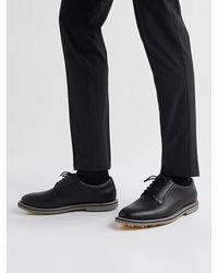 G/FORE Gallivanter Pebble-grain Leather Golf Shoes - Black