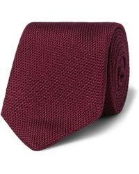 Kingsman - Drake's 8cm Silk-grenadine Tie - Lyst