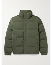 NN07 Golfie Quilted Shell Down Jacket - Green