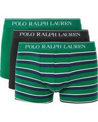 Polo Ralph Lauren - Three-pack Stretch-cotton Boxer Briefs - Lyst