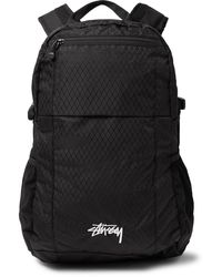 Stussy Nylon-ripstop Backpack - Black