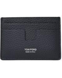 Tom Ford - Full-grain Leather Cardholder - Lyst