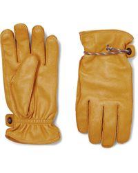 Hestra Granvik Gloves Natural Yellow