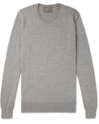 Private White V.c. - Mélange Merino Wool Sweater - Lyst