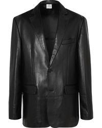 Vetements - Oversized Leather Blazer - Lyst