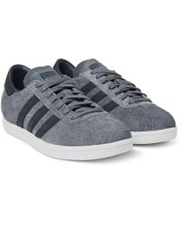 White Mountaineering + Adidas Tobacco Suede Sneakers - Grey