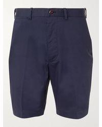 RLX Ralph Lauren Cotton-blend Golf Shorts - Blue