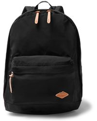 Battenwear - Cotton Canvas-trimmed Nylon Backpack - Lyst