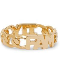 Maria Black Family Gold-plated Ring - Metallic