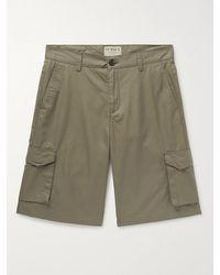 James Purdey & Sons Cotton-ventile Cargo Shorts - Green