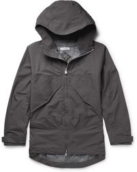 Nonnative Adventurer Ripstop And Gore-tex Hooded Jacket - Gray