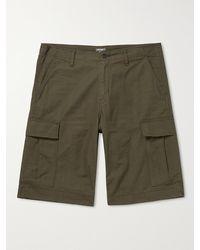 Carhartt WIP Cotton-ripstop Cargo Shorts - Green