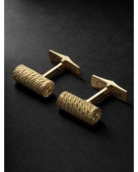 Buccellati Premium Gentlemen Gold Cuffflinks - Metallic