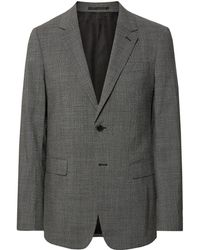 Theory - Black Chambers Slim-fit Stretch-wool Suit Jacket - Lyst
