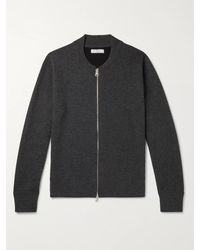 MR P. - Double-faced Cashmere Zip-up Sweater - Lyst