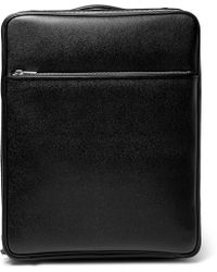 Valextra - Pebble-grain Leather Carry-on Case - Lyst