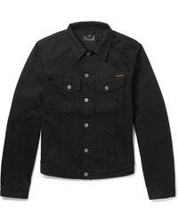 Nudie Jeans Nudie Billy Denim Jacket - Black