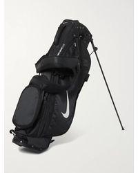Nike Sport Lite Logo-print Textured-shell Golf Bag - Black