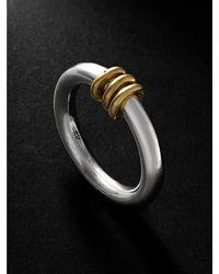 Spinelli Kilcollin Kane Sg White And Yellow Gold Ring - Metallic